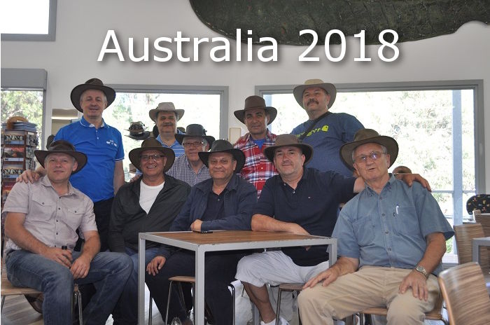 Vizita in Australia